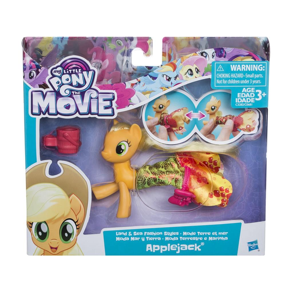 Boneca My Little Pony Applejack  Vestido Magico C3282 - Hasbro