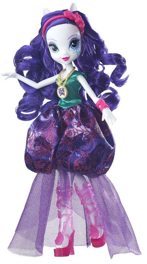 Boneca My Little Pony Equestria Girls Legend Of Everfree Gala de Cristal Rarity - Hasbro