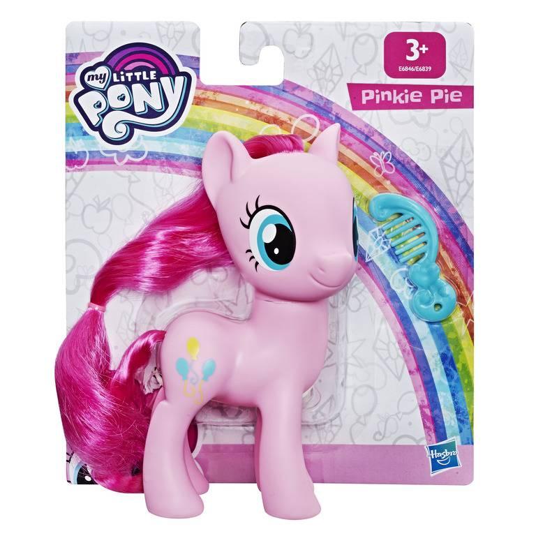 Boneca My Little Pony Pinkie Pie 15 cm E6846 / E6839 - Hasbro