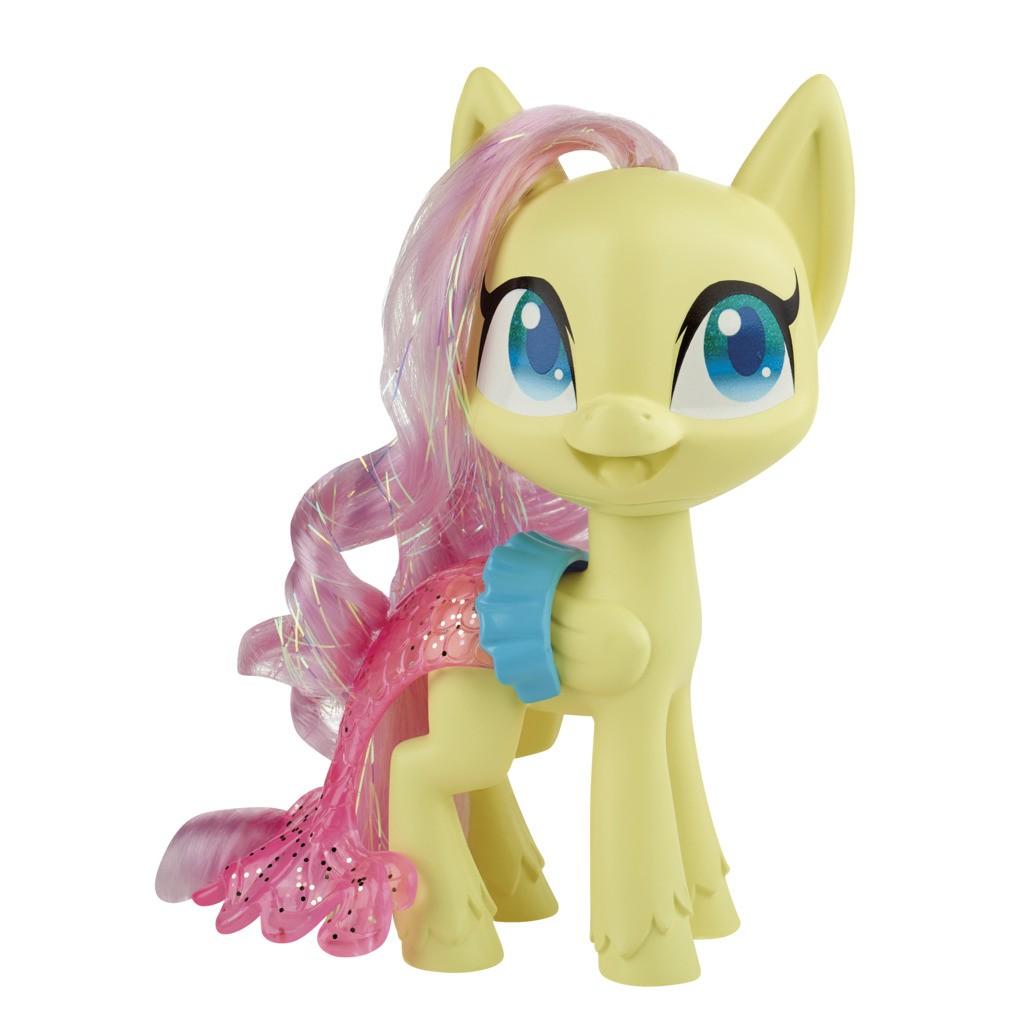 Boneca My Little Pony Poção de Estilo Fluttershy Sereia E9141 E9101 - Hasbro