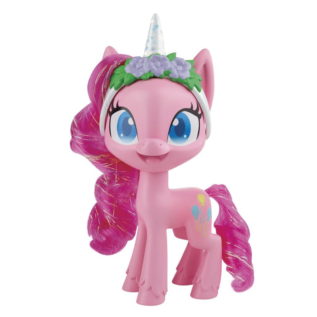 Boneca My Little Pony Poção de Estilo Pinkie Pie Unicórino E9140 E9101 - Hasbro