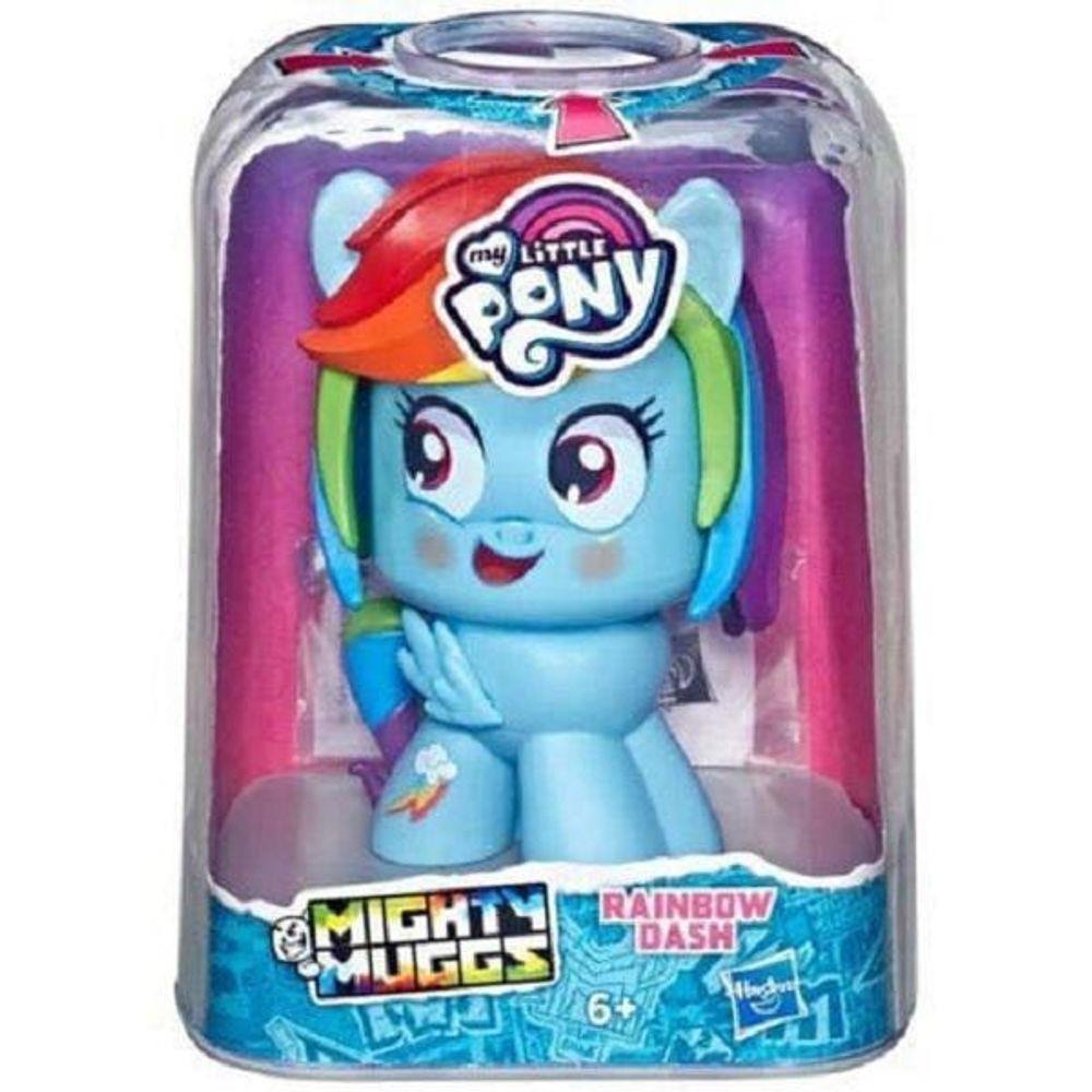 Boneca My Little Pony Rainbow Dash Mighty Muggs  E4632 - Hasbro E4624