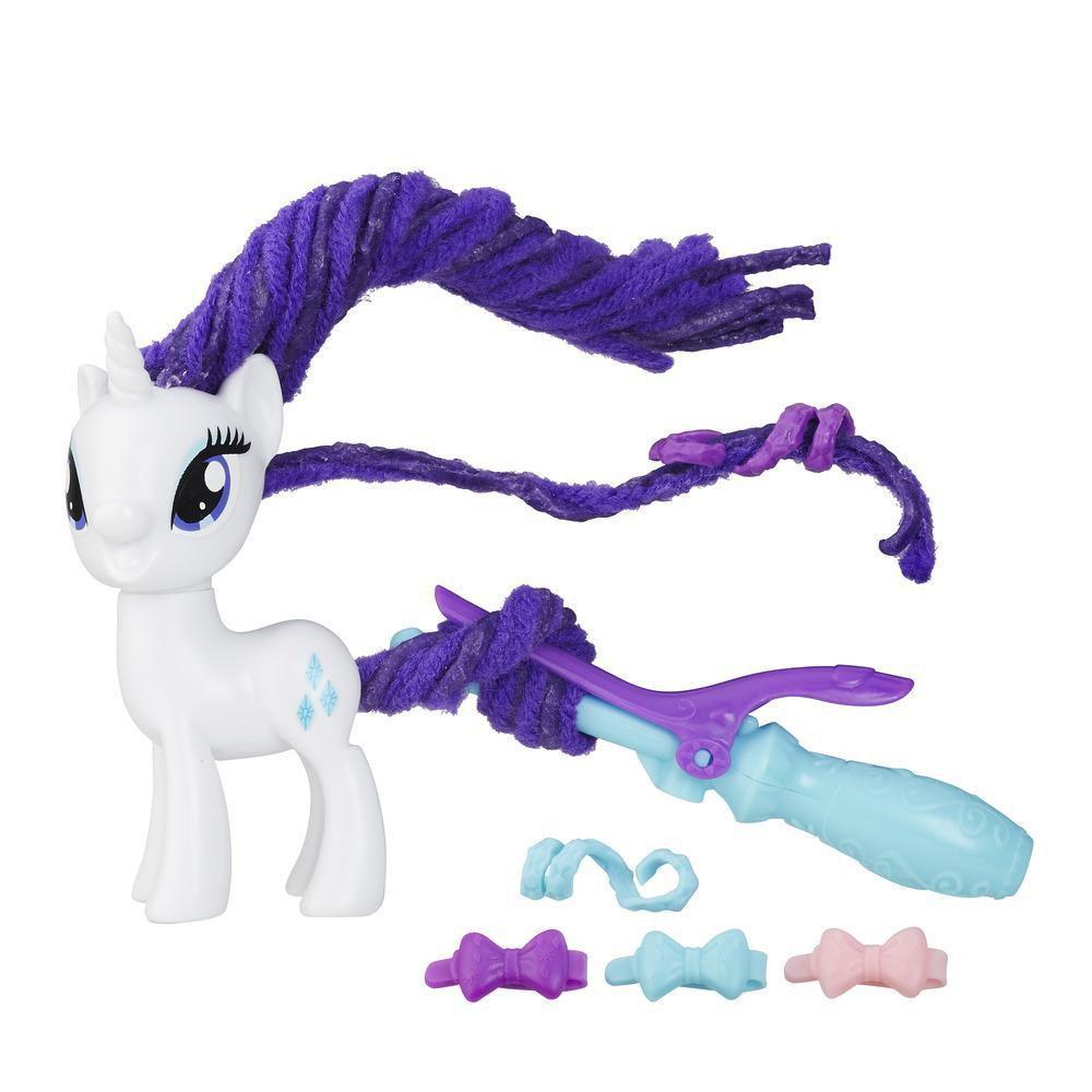 Boneca My Little Pony Rarity Com Acessorios Penteados Arrojados B9619 - Hasbro B8809