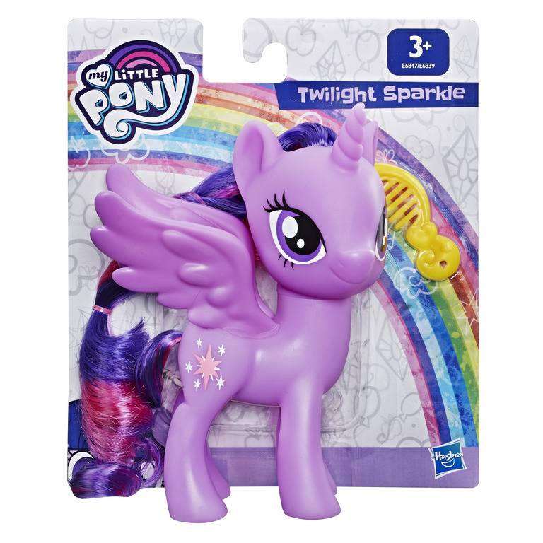 Boneca My Little Pony Twilight Sparkle 15 cm E6847 / E6839 - Hasbro