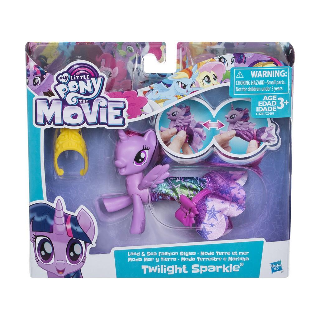 Boneca My Little Pony Twilight Sparkle Vestido Magico C3281 - Hasbro