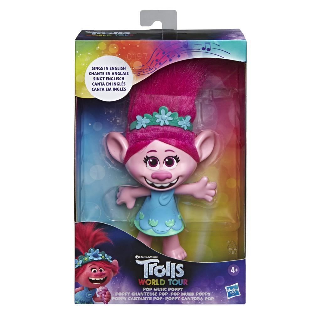 Boneca Pop Trolls Poppy Cantora E7219 - Hasbro