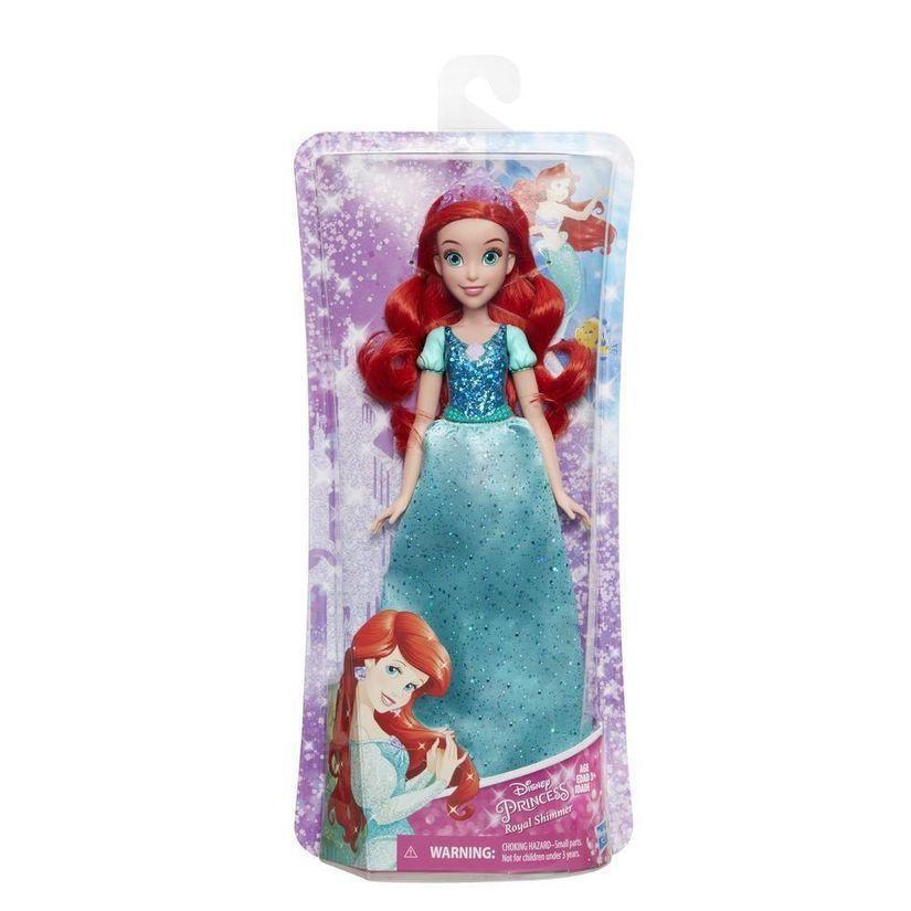 Boneca Princesas Disney Royal Shimmer 30cm Escolha a Sua - Hasbro