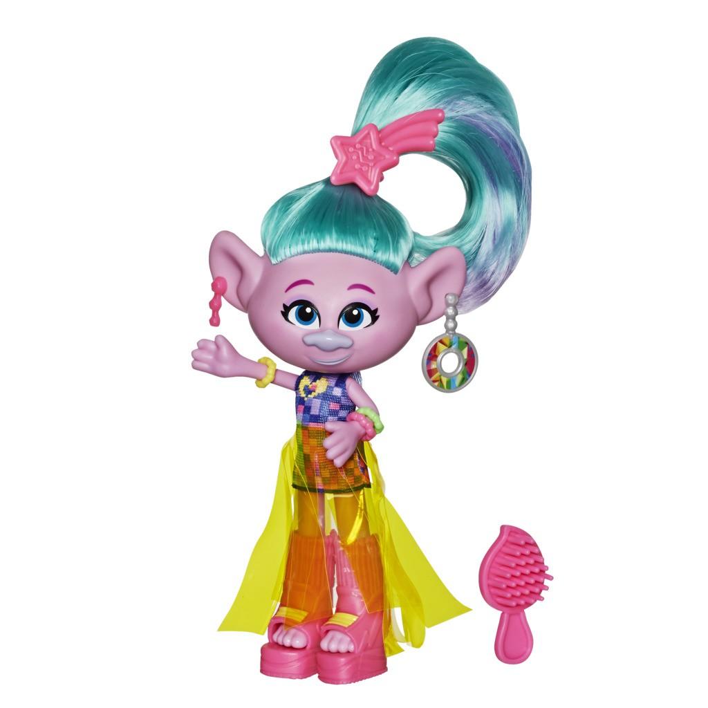 Boneca Trolls na Moda Cetim Glamour E6820 - Hasbro