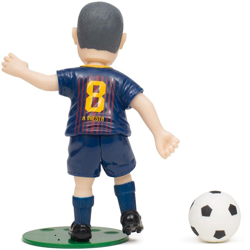 Boneco Articulado Colecionável Iniesta - Barcelona