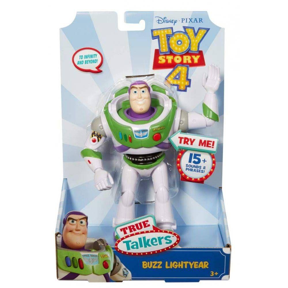 Boneco Eletronico Buzz Lightyear com Sons Toy Story 4 GFL90 - Mattel