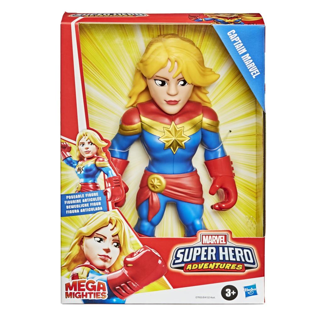 Boneco Capita Marvel Mega Mighties E7933 E4132 - Hasbro