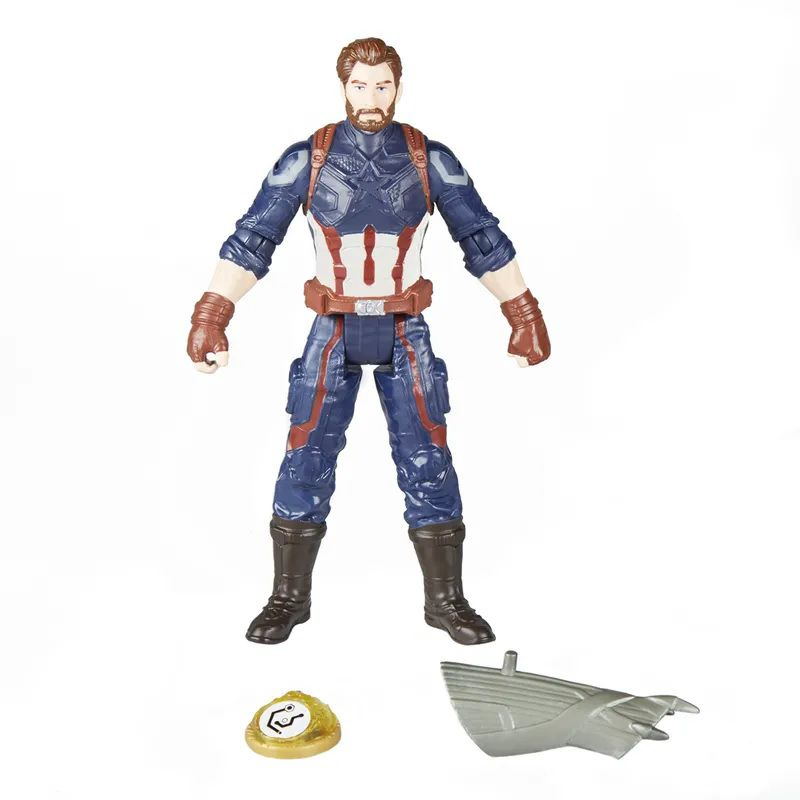 9c32ea8dae Boneco Capitão América 15 cm com Joia do Infinito E1407 - Hasbro