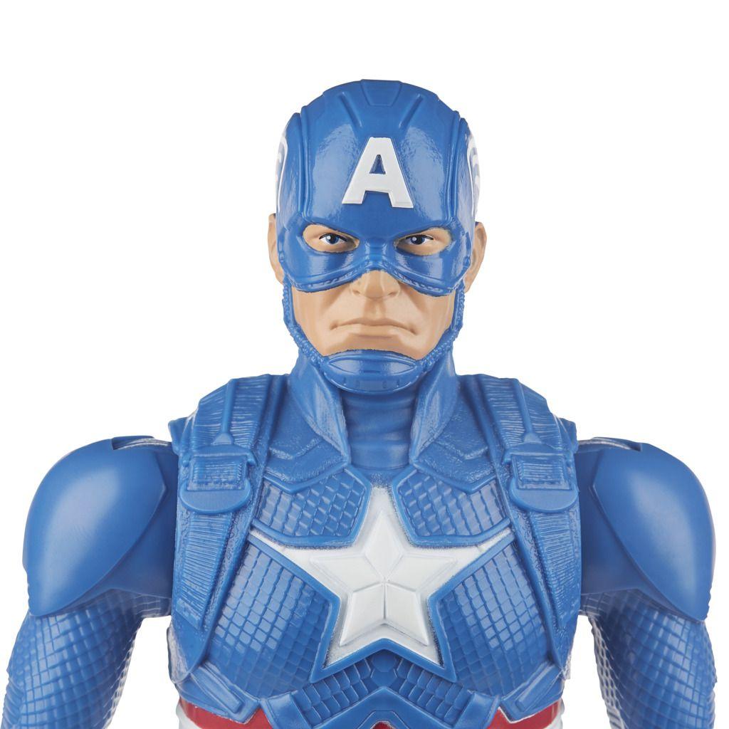 Boneco Capitao America Titan Hero Blast Gear E7877 - Hasbro