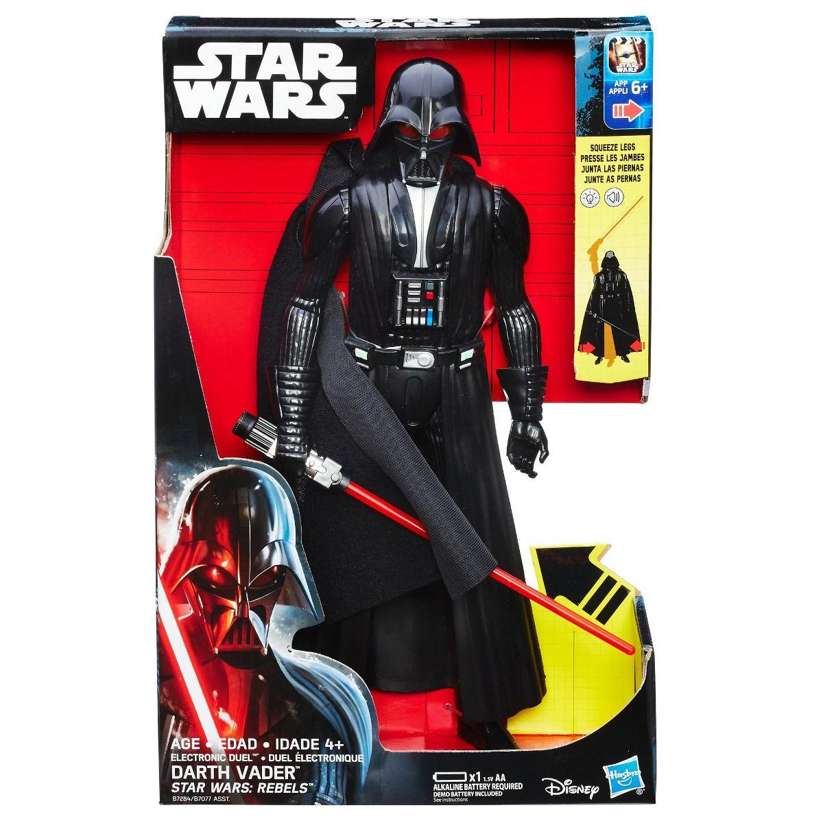 Boneco Darth Vader Eletrônico 30 CM com som e Sabre de Luz - Hasbro 176fe6d80ab