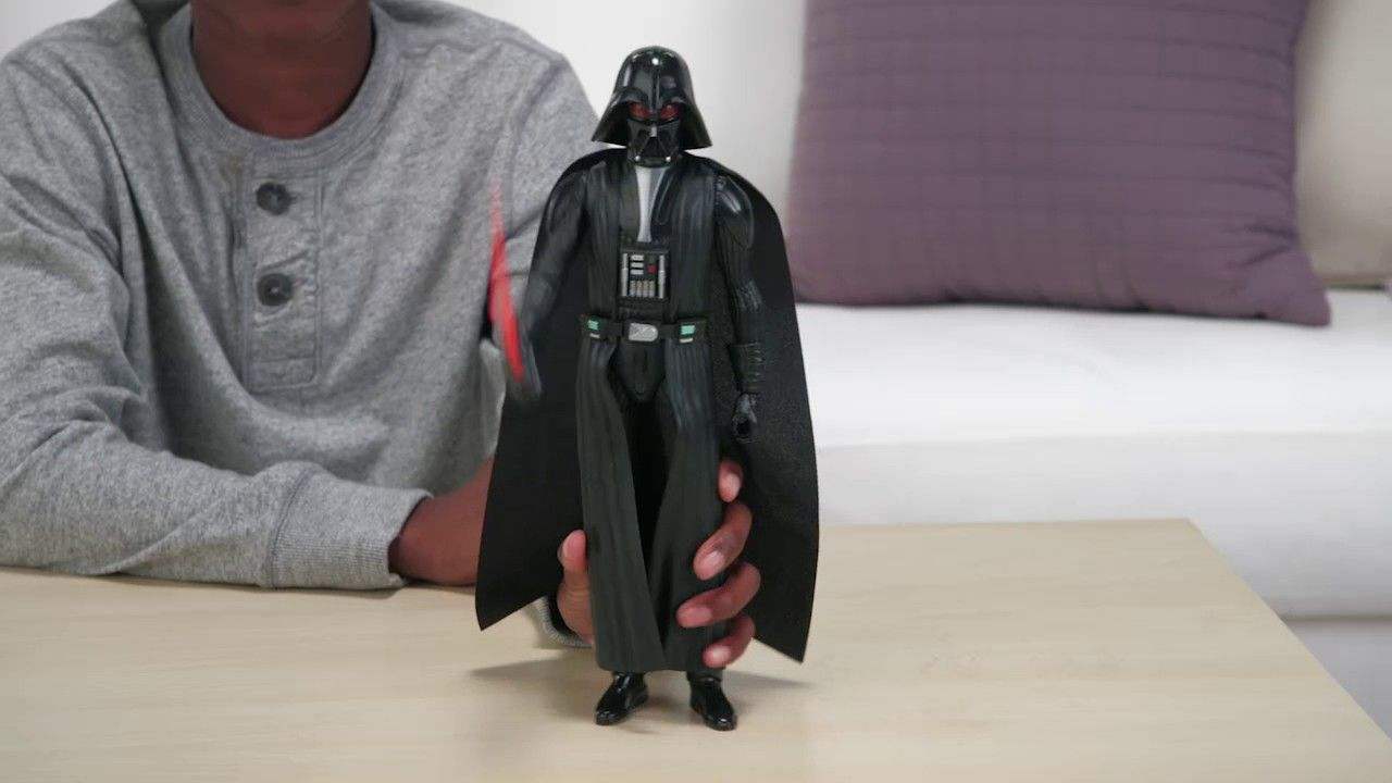 Boneco Darth Vader Eletrônico Star Wars Rebels Hero Series - Hasbro