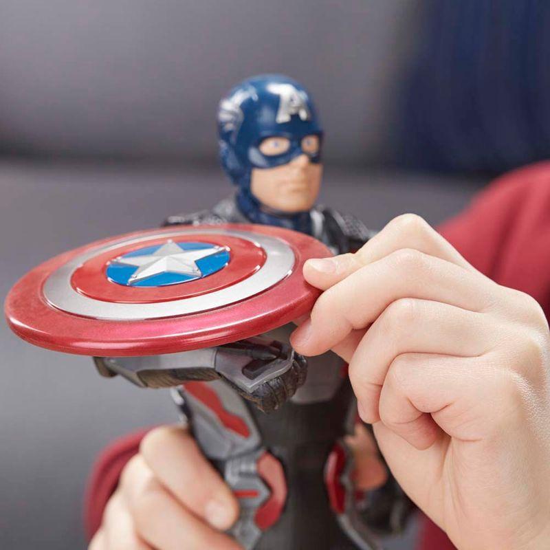 Boneco Eletrônico Capitão América 30 Cm Vingadores Endgame E3358 - Hasbro