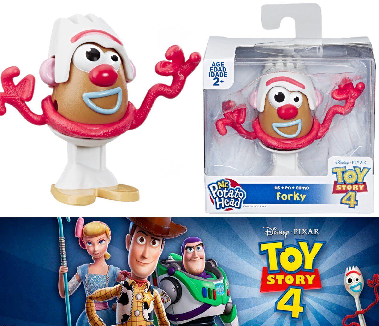 Boneco Forky - Toy Story 4 Mr Potato Head como Forky E3093 - Hasbro