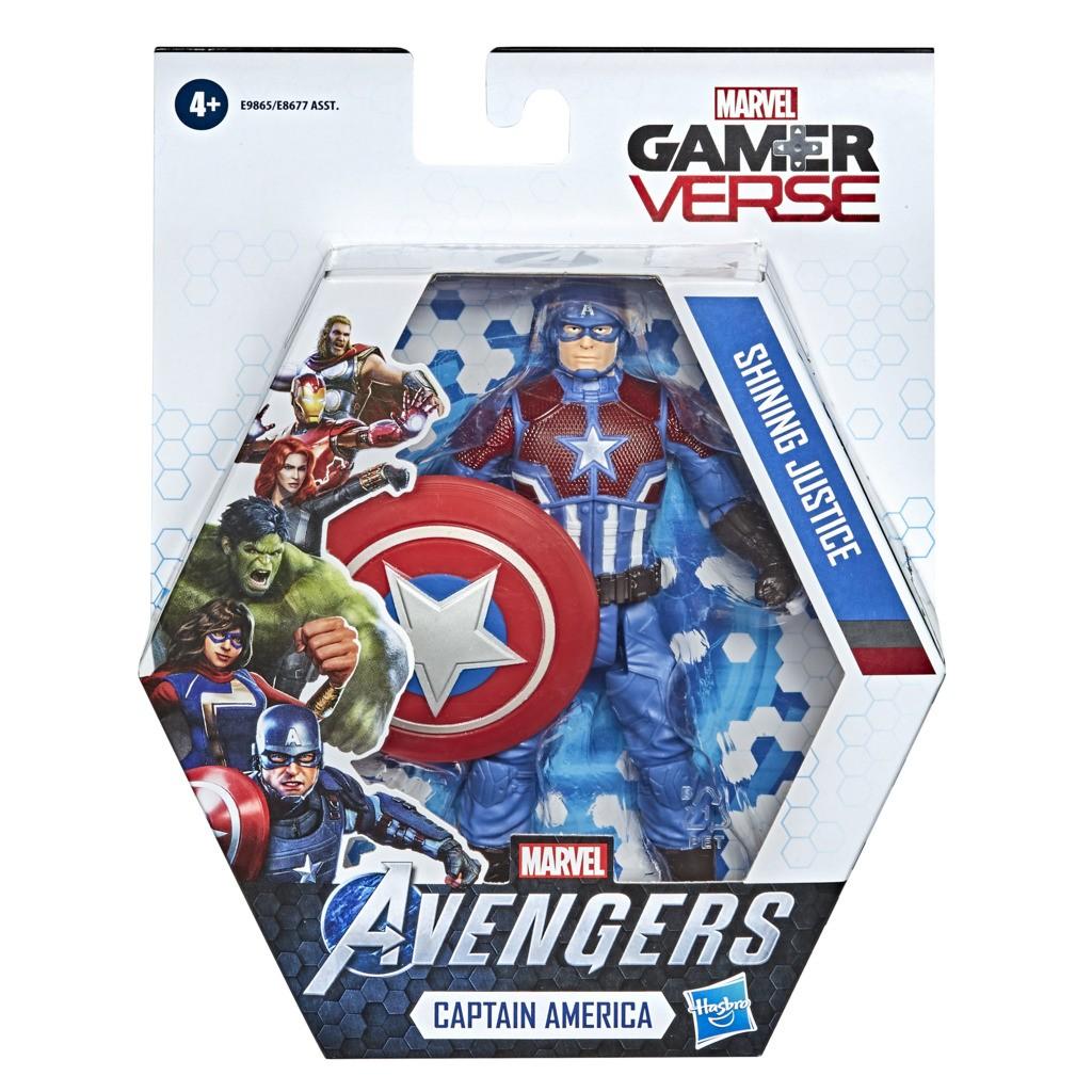 Boneco Game Verse Capitao America E9865 - Hasbro