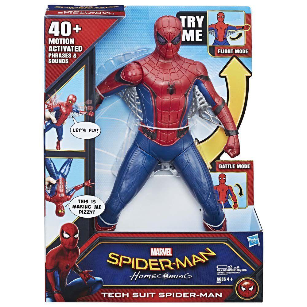 """Boneco Homem Aranha 16"""" Eletrônico B9691- Hasbro"""