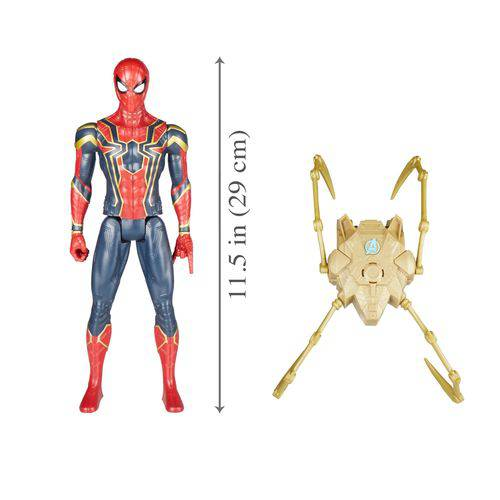 Boneco Homem Aranha Eletrônico Com Dispositivo Power FX - Hasbro