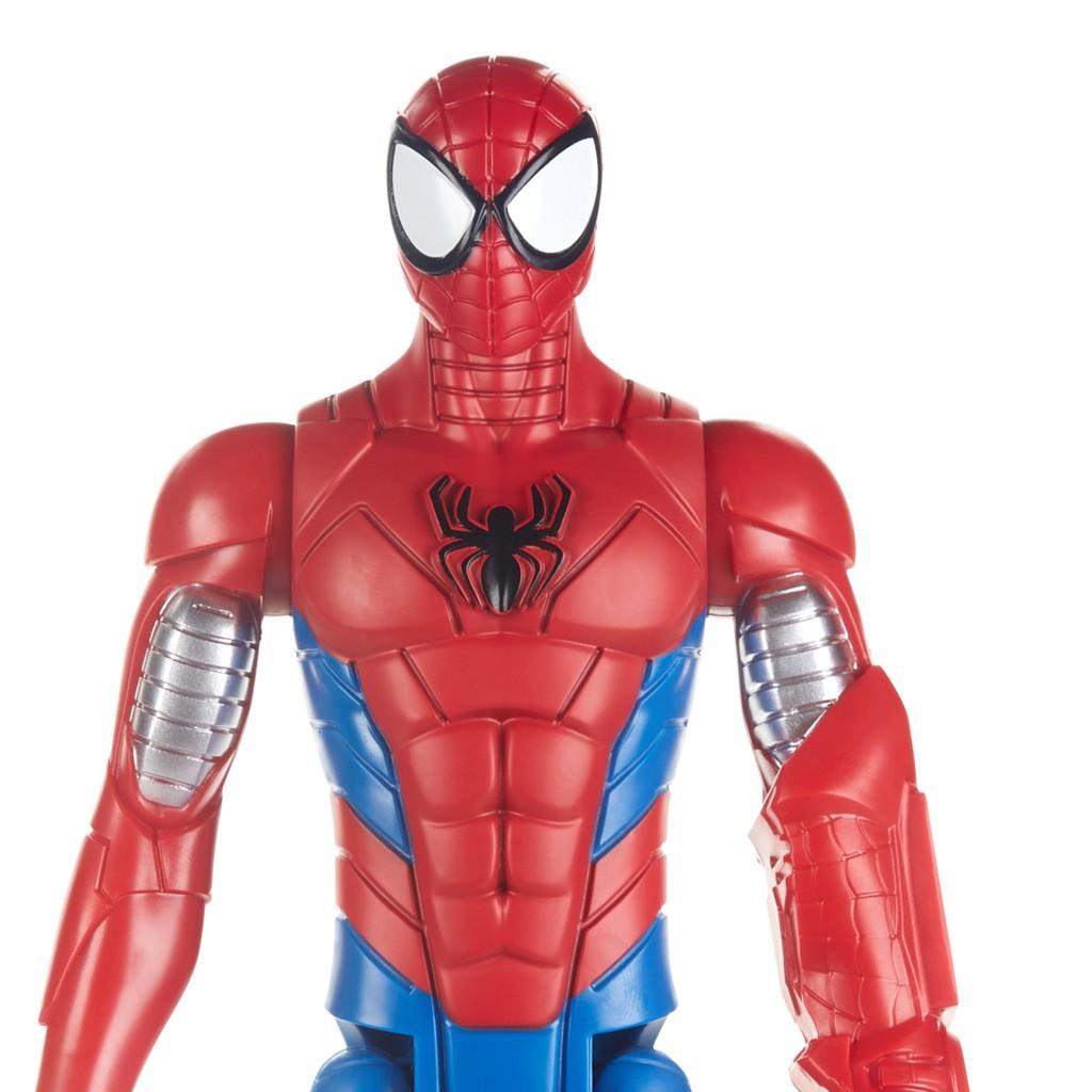 Boneco Homem Aranha Armored Blindado Titan Hero E2343 / E2324 - Hasbro