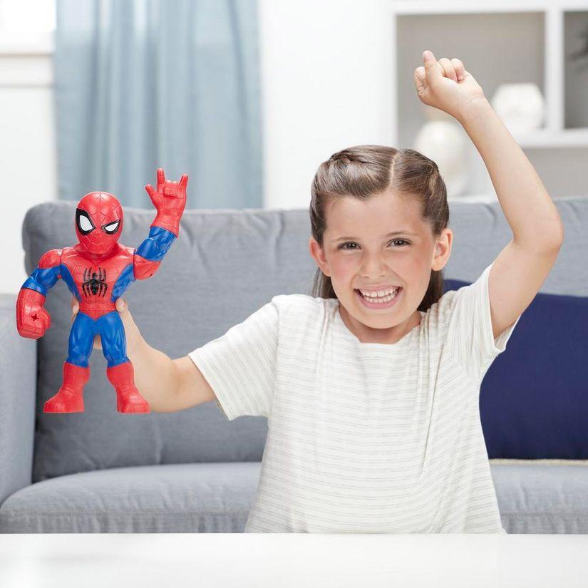 Boneco Homem Aranha Mega Mighties Playskool Heroes Marvel Super Hero Adventures E4147 E4132 - Hasbro
