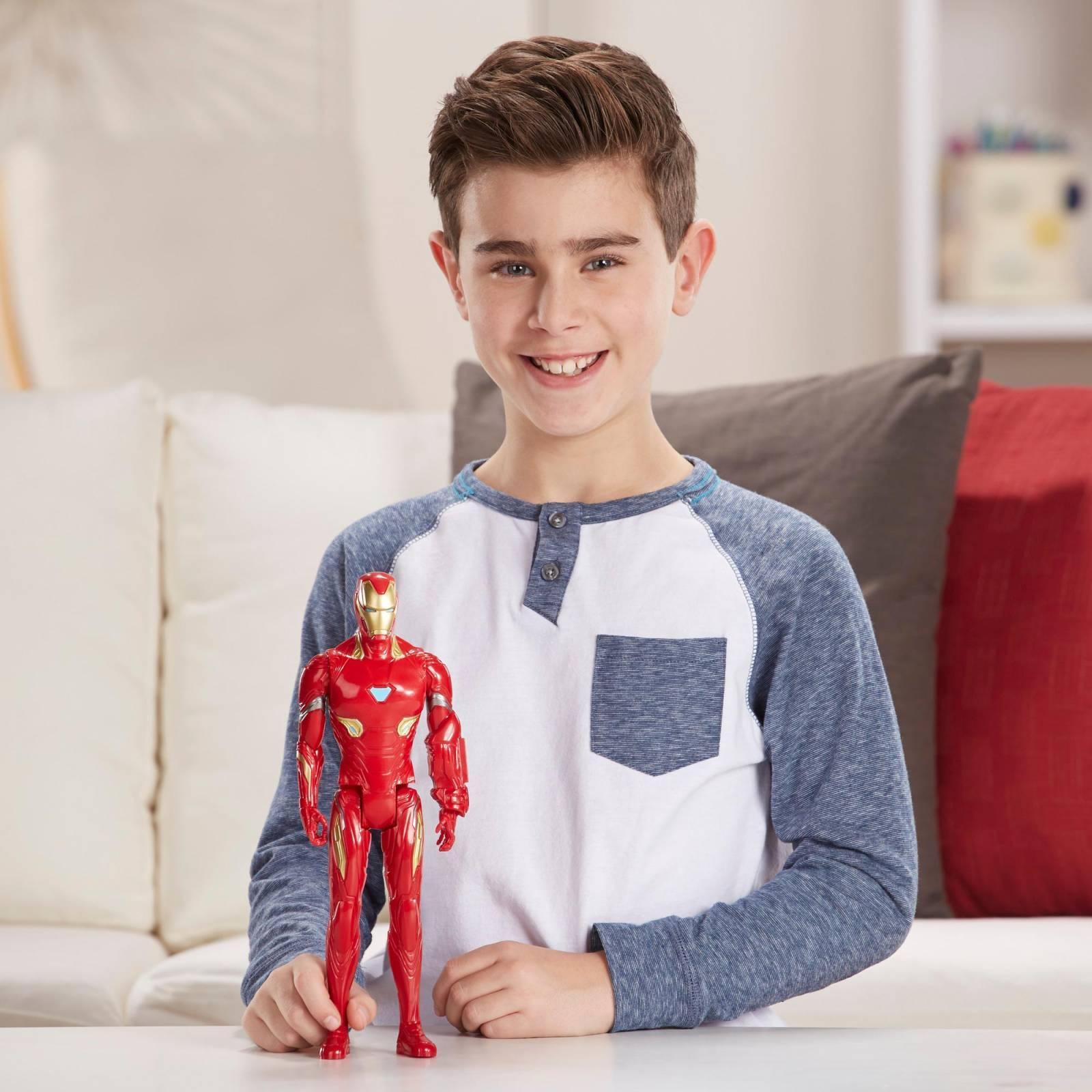 Boneco Homem de Ferro 30 cm Avengers Vingadores 4 Ultimato E3918 - Hasbro