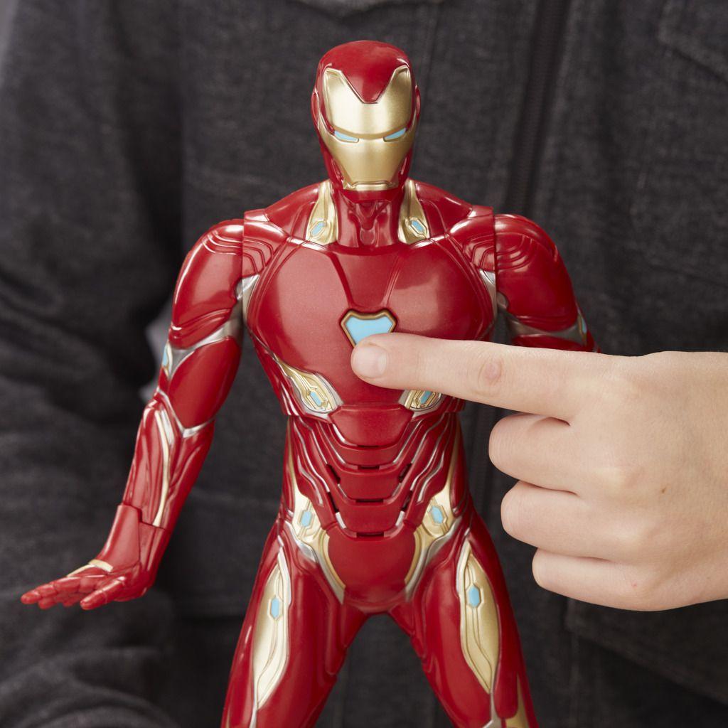 Boneco Homem de Ferro Eletronico E4929 - Hasbro