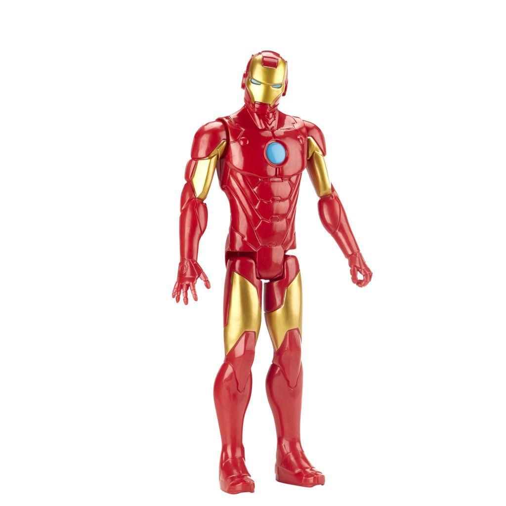 Boneco Homem de Ferro Titan Hero Blast Gear E7873 - Hasbro