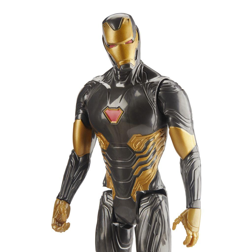 Boneco Homem de Ferro Traje Dourado Blast Gear E7878 - Hasbro