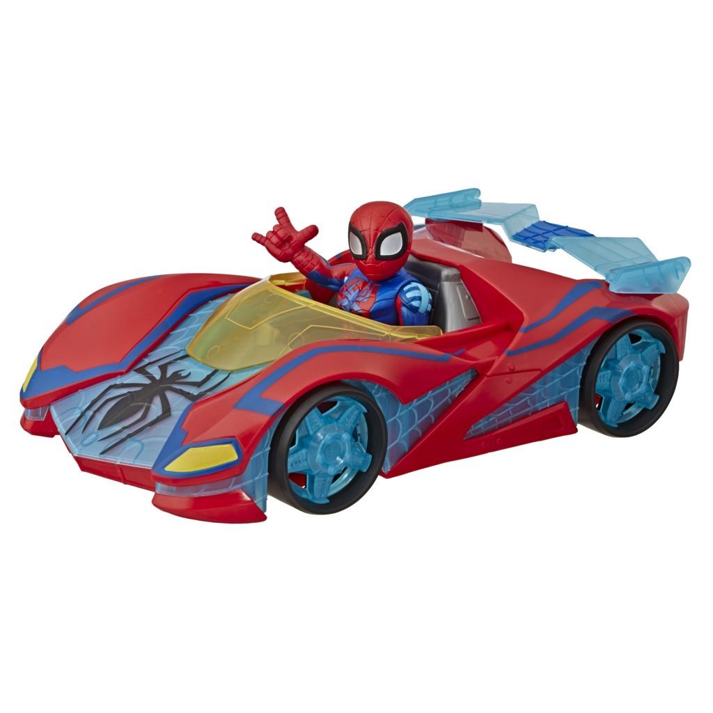Boneco Homem e Carro Aranha Super Hero E6223 - Hasbro