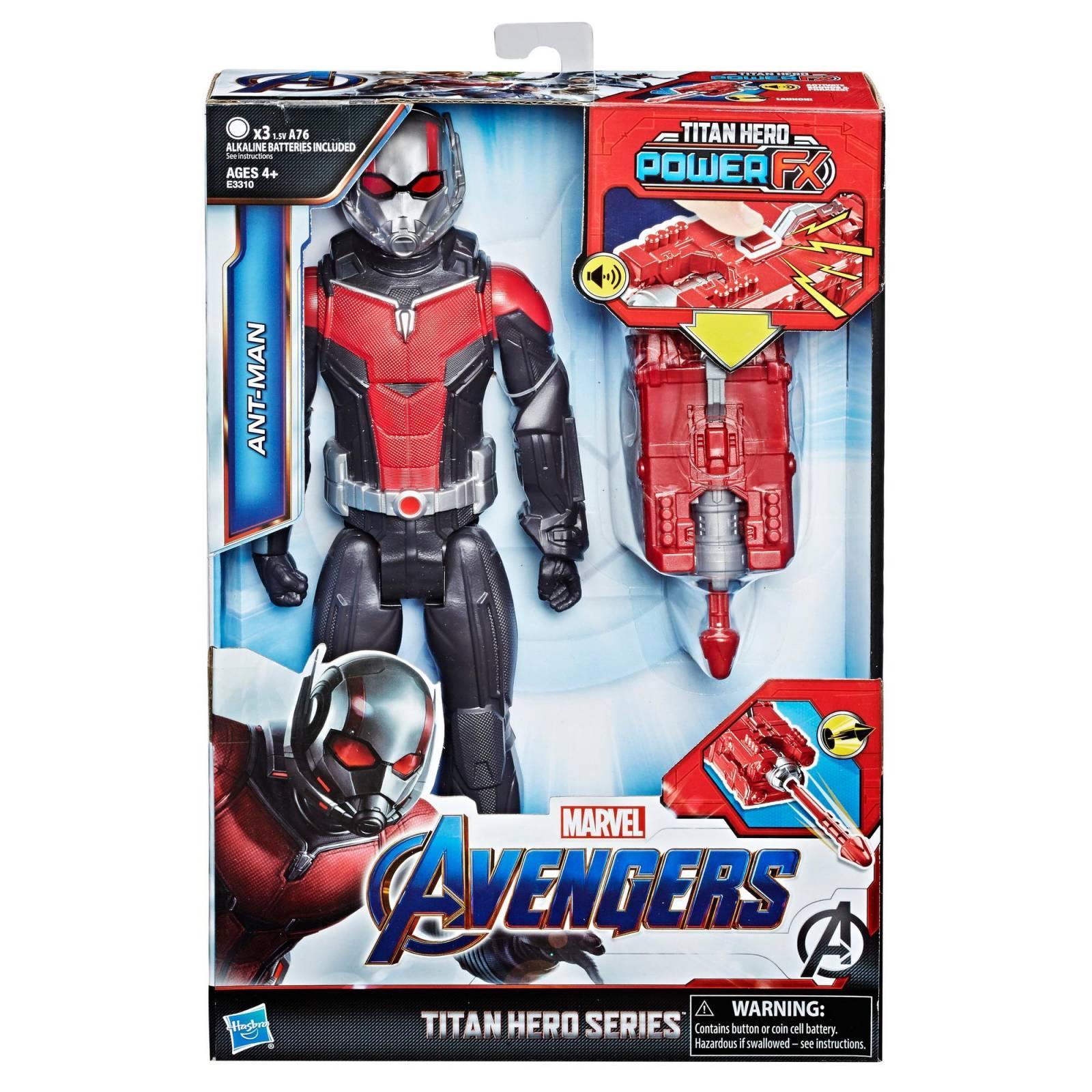Boneco Homem Formiga 30 Cm Titan Hero com Dispositivo Power FX E3310 - Hasbro