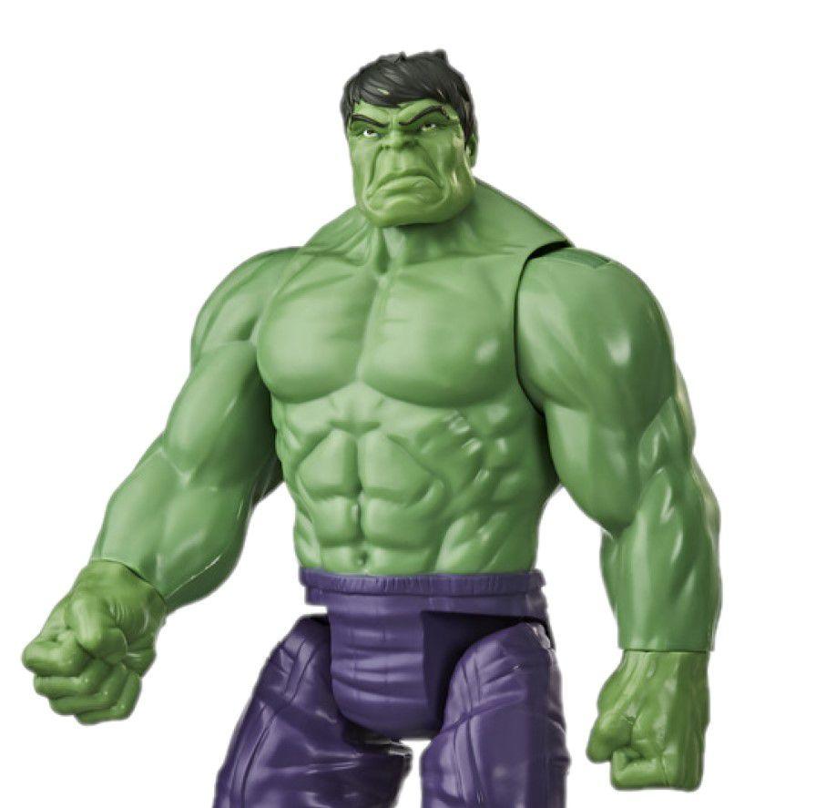 Boneco Hulk Titan Hero Deluxe Blast Gear E7475 - Hasbro