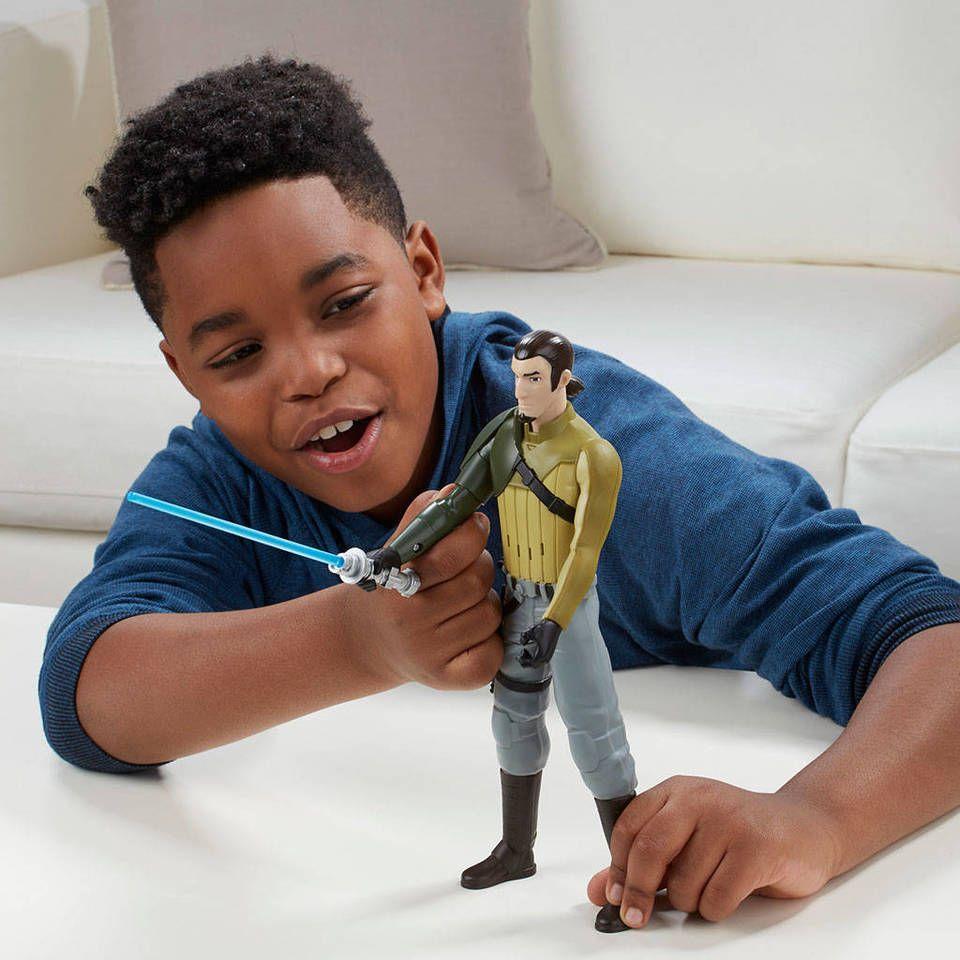 Boneco Kanan Jarrus Eletrônico Star Wars Rebels Hero Series - Hasbro