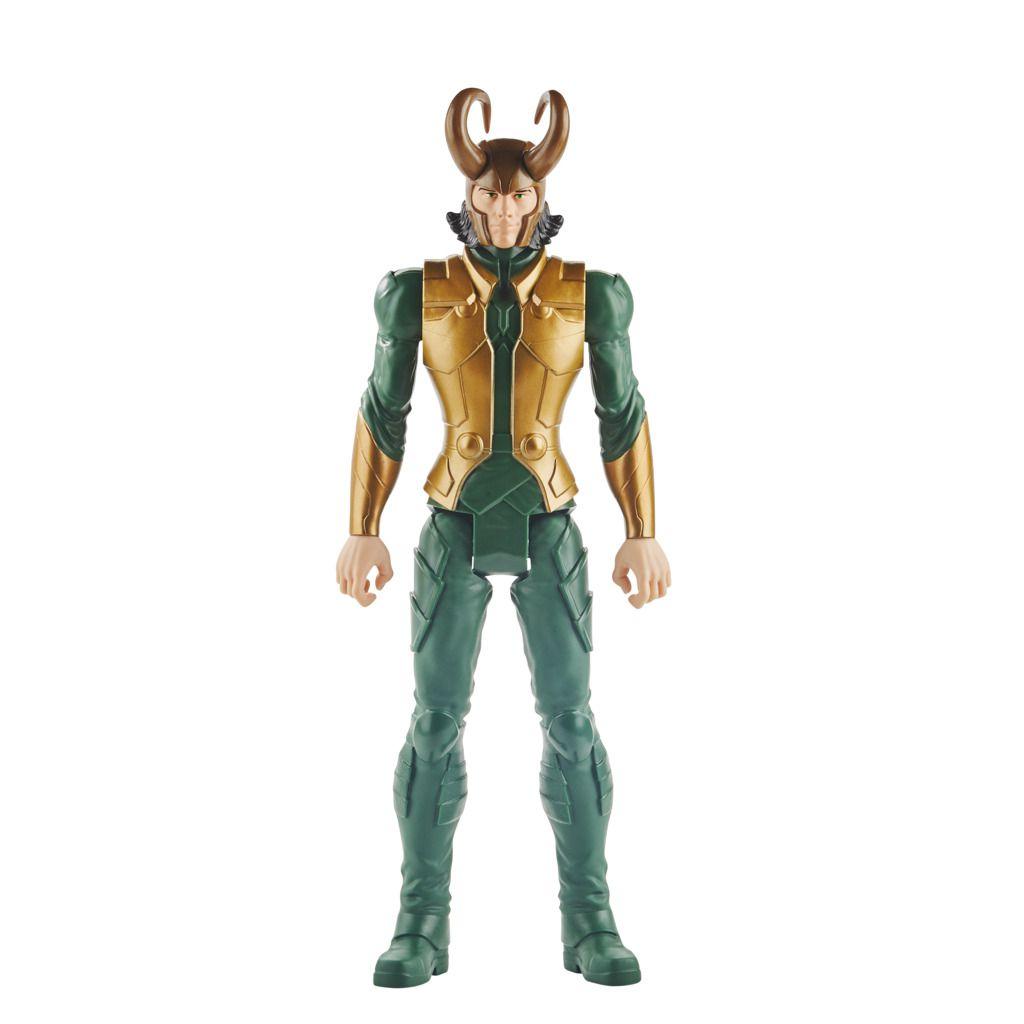 Boneco Loki Titan Hero Blast Gear E7874 - Hasbro
