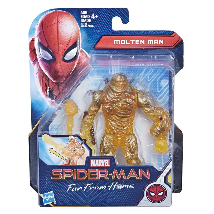 Boneco Magma - Molten Man - Homem Aranha Longe de Casa E4121 - Hasbro E3549