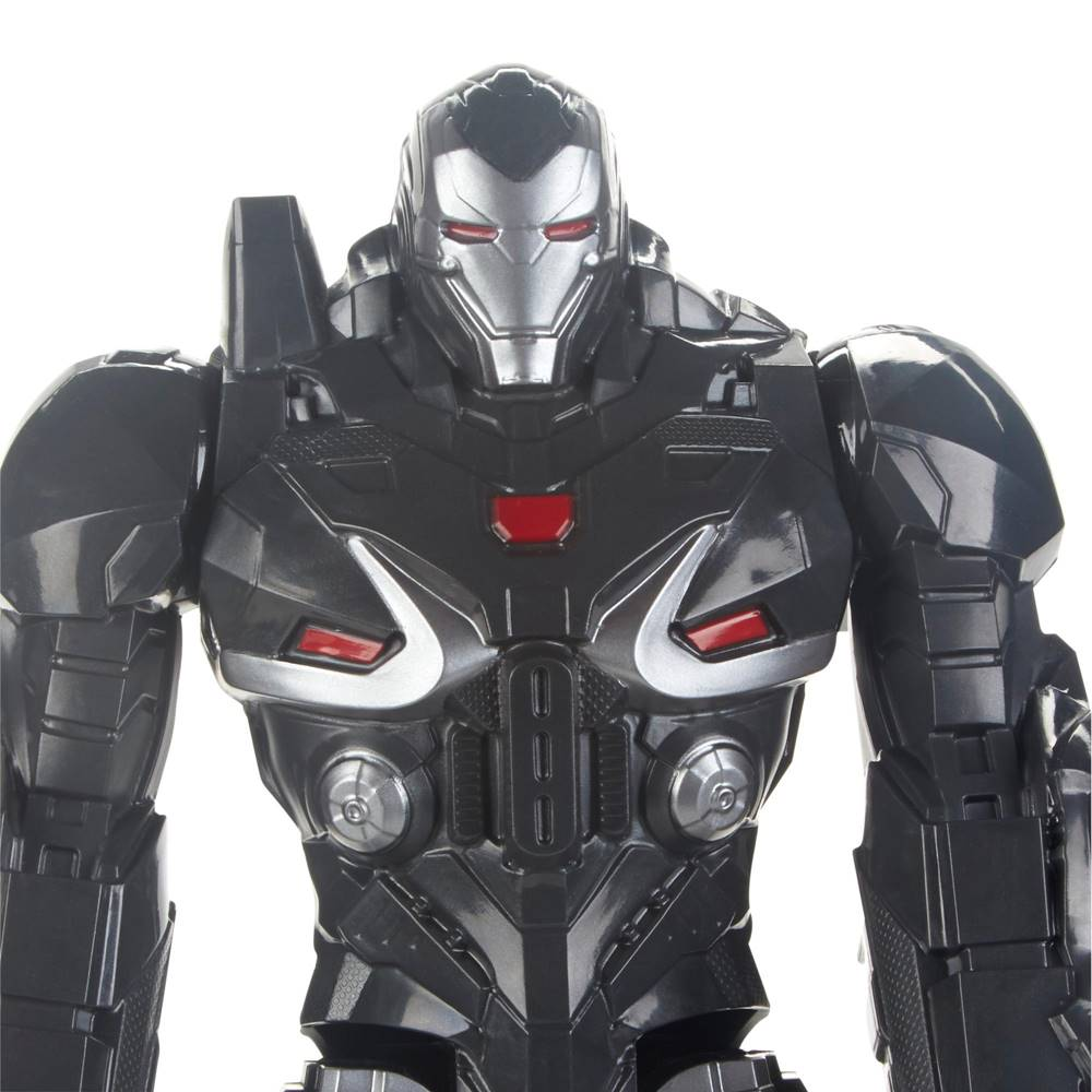 Boneco Maquina do Combate 30cm Vingadores 4 - Ultimato Com Entrada para Dispositivo Power FX - E4017 Hasbro