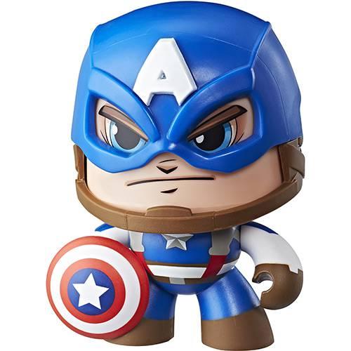 Boneco Mighty Muggs 15 Cm Capitão America - Hasbro