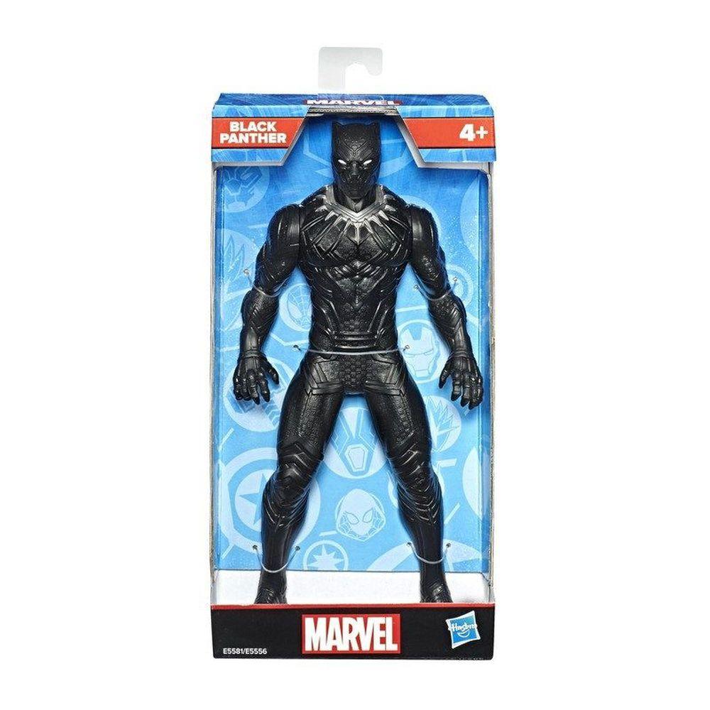 Boneco Pantera Negra 25 Cm Action Figure Avengers Olympus E5581 - Hasbro e5556