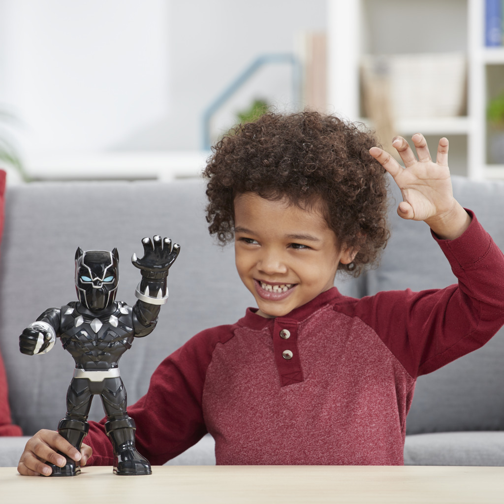 Boneco Pantera Negra Mega Mighties E4151 - Hasbro
