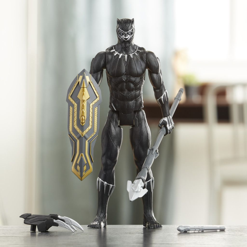 Boneco Pantera Negra Titan Hero Blast Gear E7388 - Hasbro