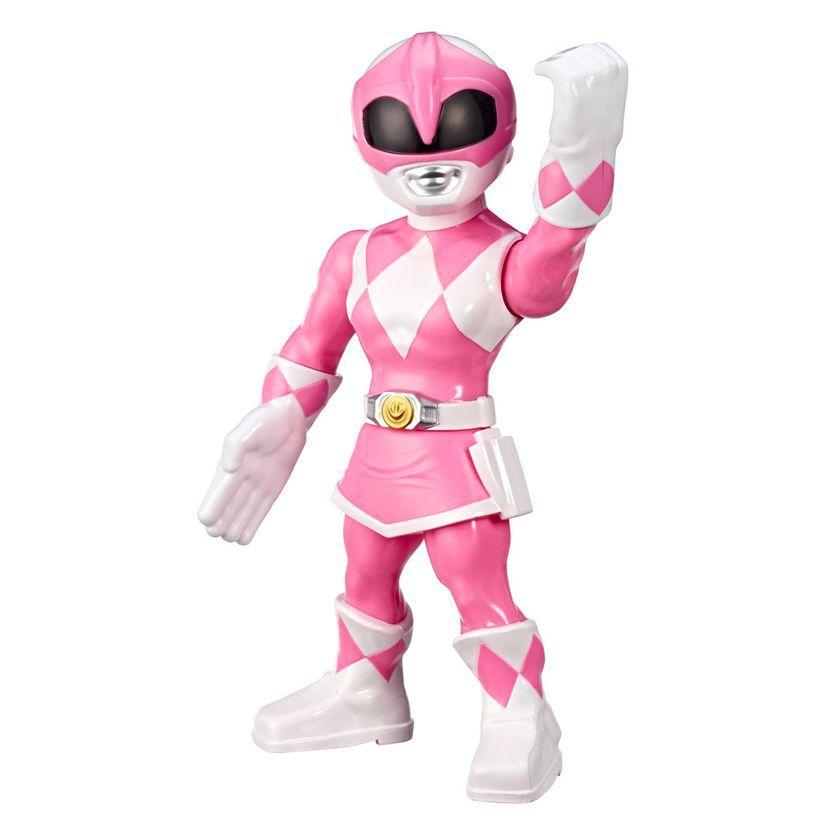 Boneco Power Ranger Rosa Mega Mighties Playskool Heroes E6729 E5869 - Hasbro