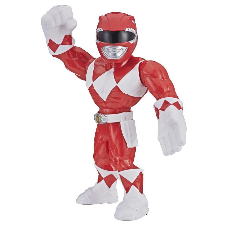 Boneco Power Ranger Vermelho Mega Mighties Playskool Heroes E5872 E5869 - Hasbro