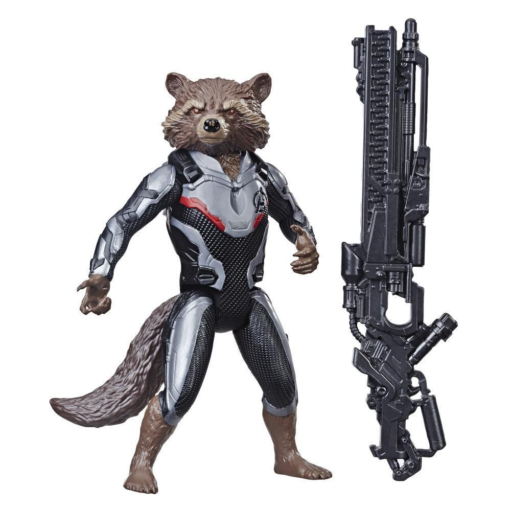 Boneco Rocket Raccoon 17 Cm Avengers Ultimato E3917  / E3308  - Hasbro
