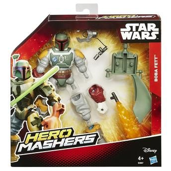 Boneco Star Wars Hero Mashers Deluxe Episódio VII - Boba Fett - Hasbro