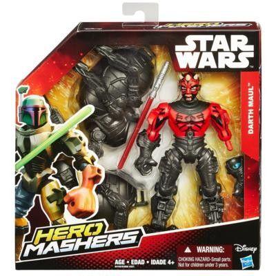Boneco Star Wars Hero Mashers Deluxe Episódio VII - Darth Maul With Gear - Hasbro