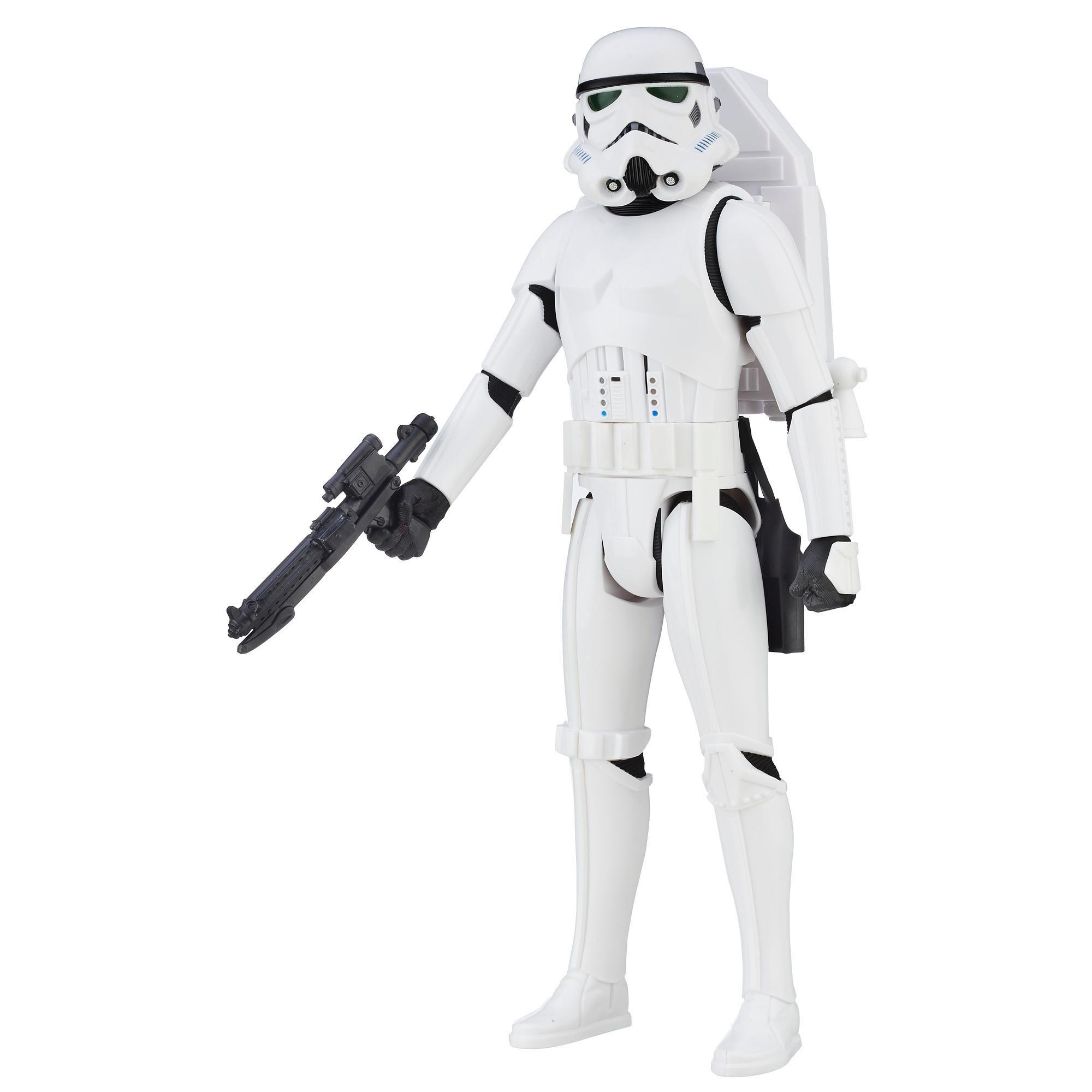 Boneco  Star Wars Stormtrooper Eletronico Interactech - Hasbro