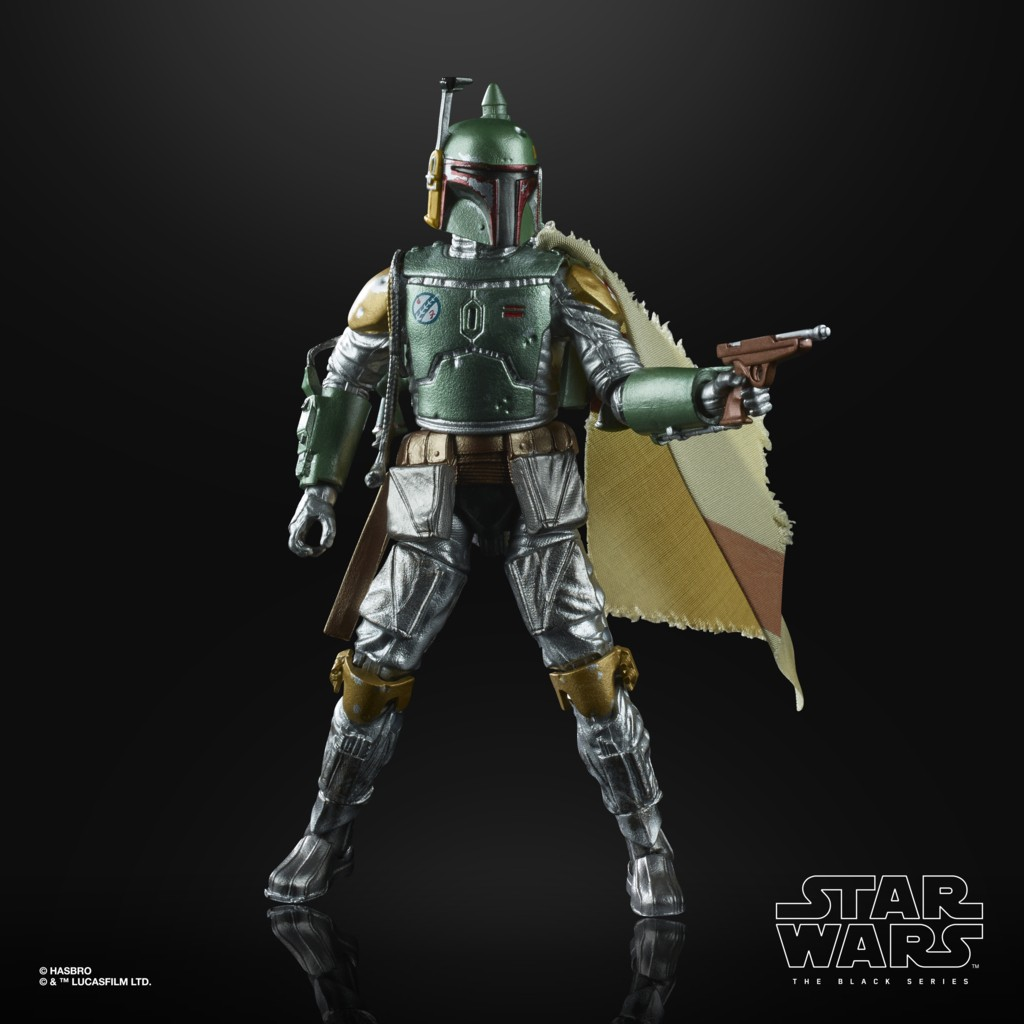 Boneco Star Wars The Black Series Carbon Boba Fett E9927 - Hasbro