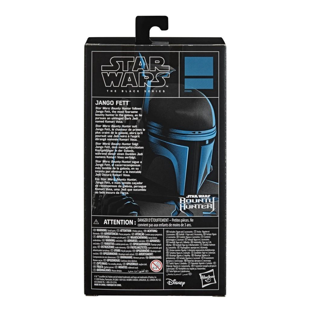 Boneco Star Wars The Black Series  Jango Fett E9995 - Hasbro