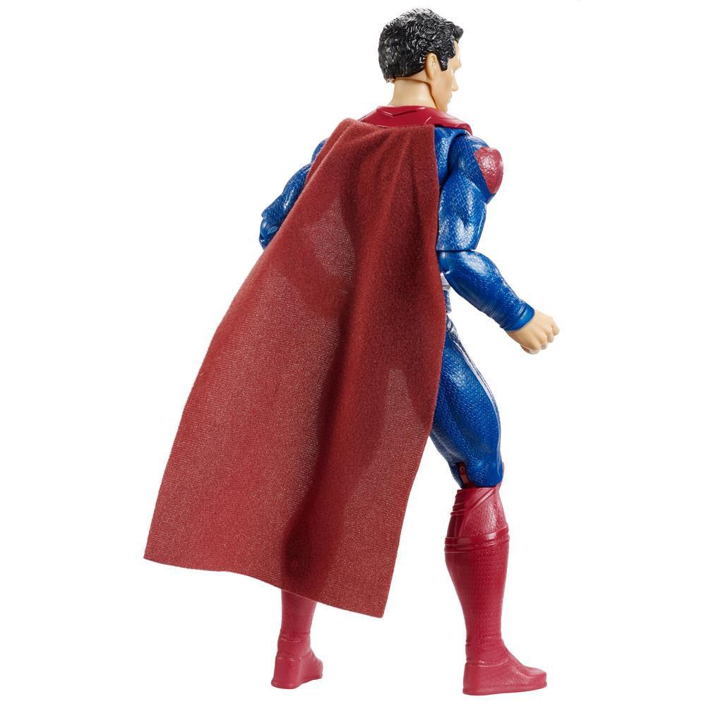 Boneco Superman Armadura Metalizada Liga da Justiça 30 cm - Mattel